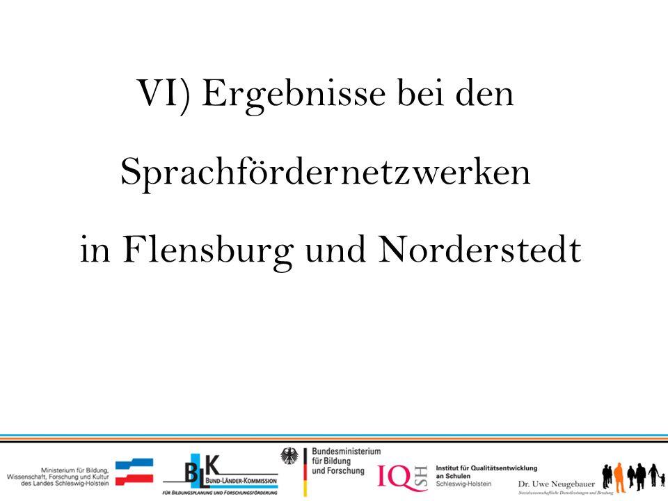 Sprachfördernetzwerken in Flensburg und Norderstedt