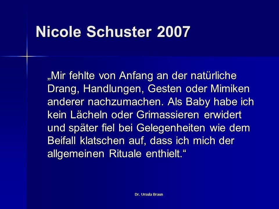 Nicole Schuster 2007