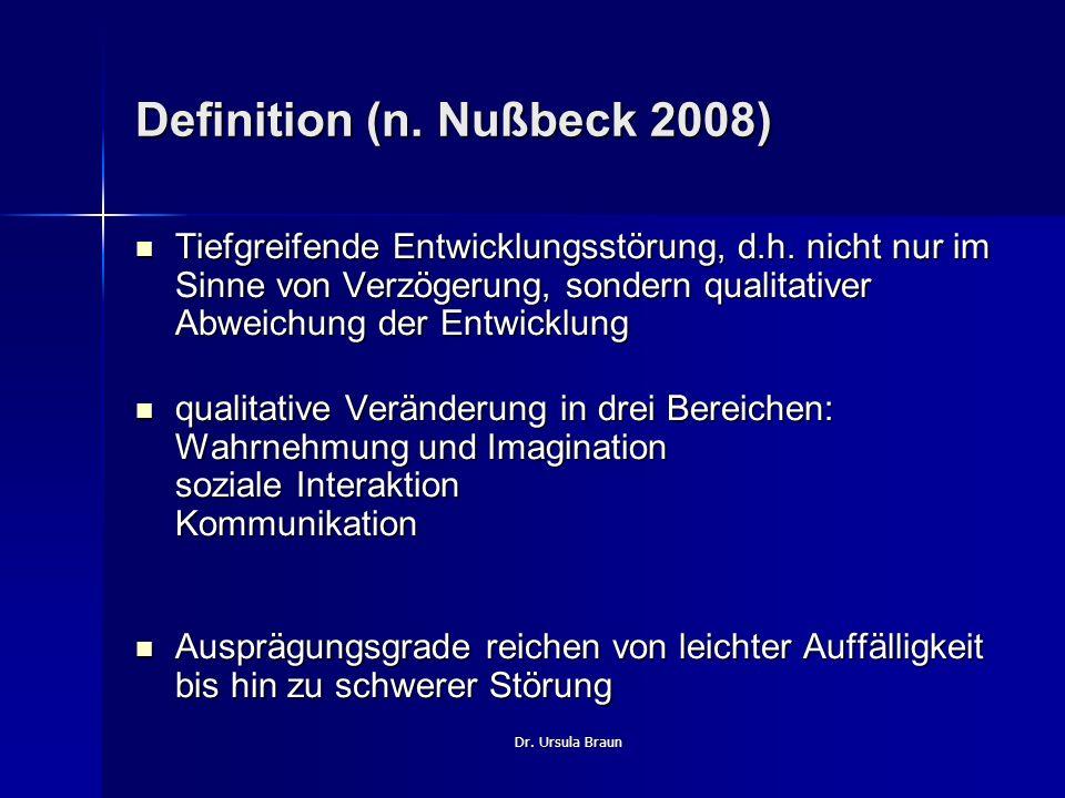 Definition (n. Nußbeck 2008)
