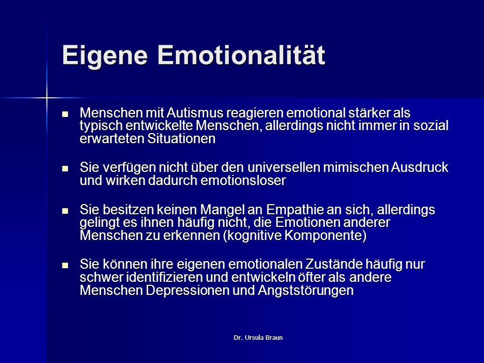Eigene Emotionalität