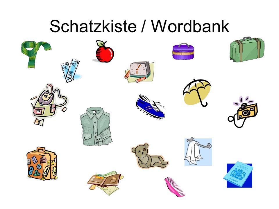 Schatzkiste / Wordbank