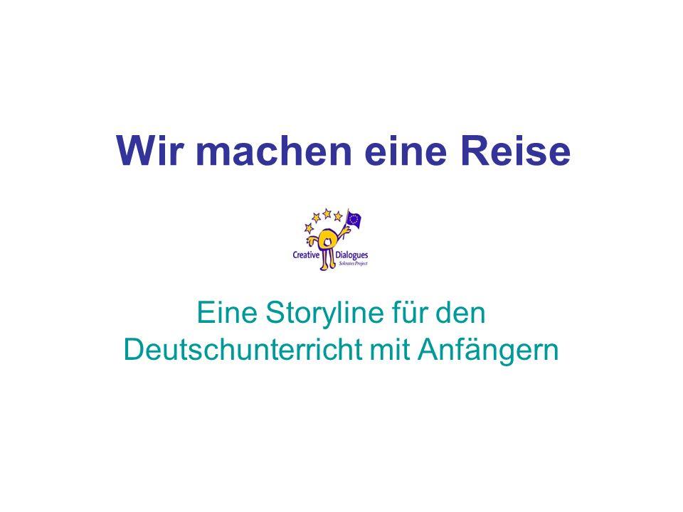 Eine Storyline für den Deutschunterricht mit Anfängern