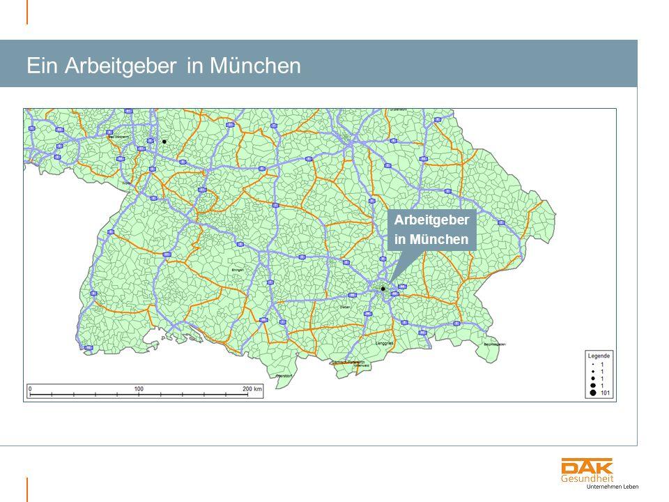 Ein Arbeitgeber in München