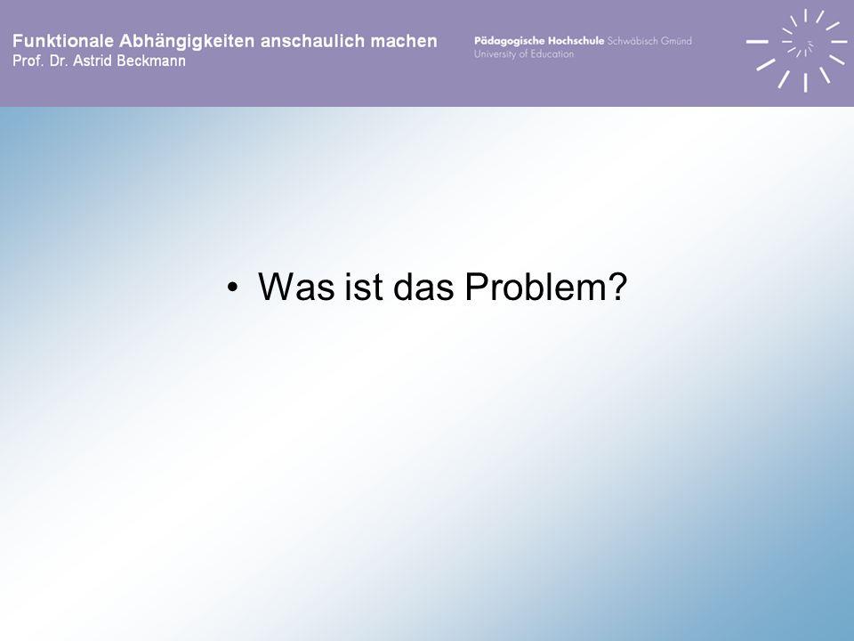 Was ist das Problem