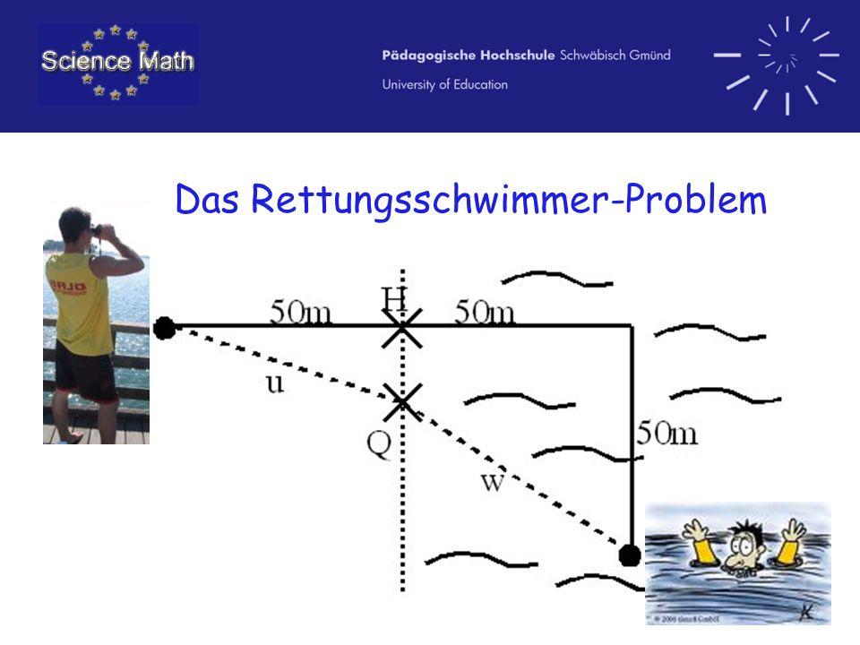 Das Rettungsschwimmer-Problem