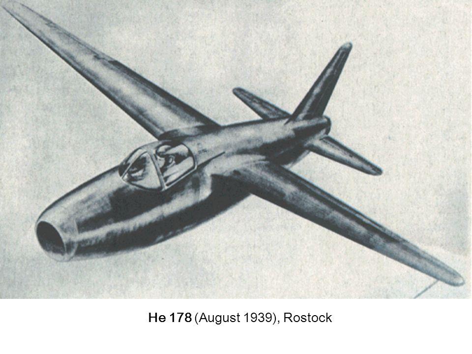 He 178 (August 1939), Rostock