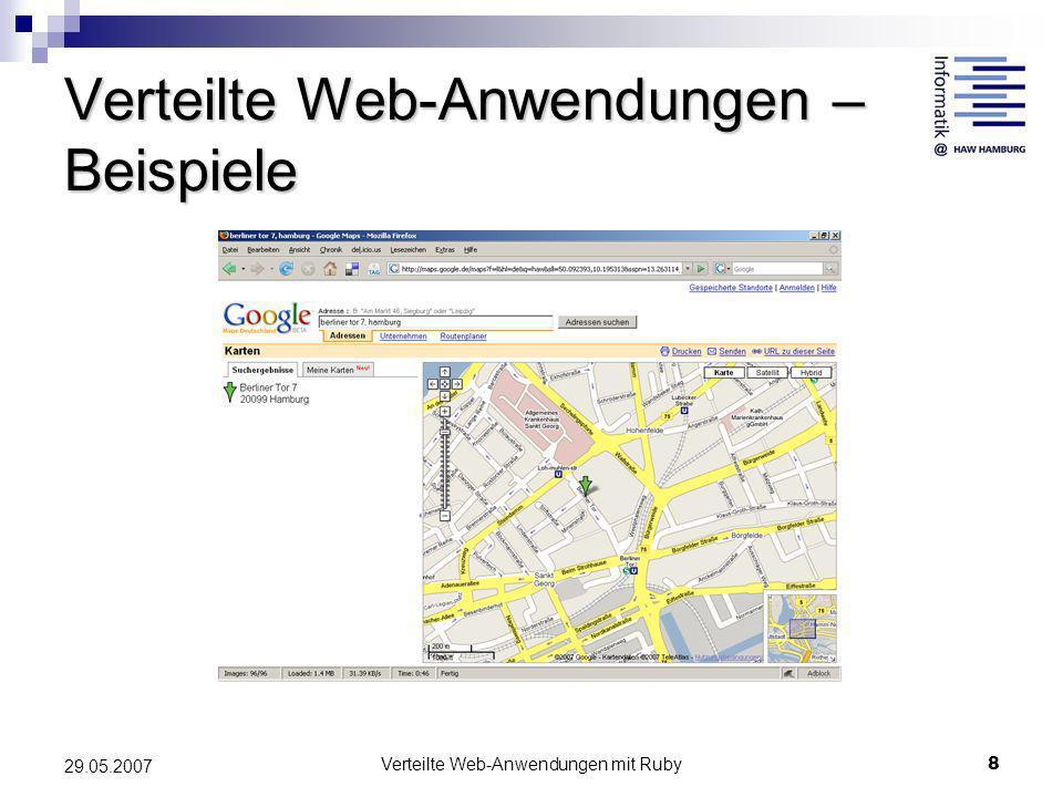 Verteilte Web-Anwendungen – Beispiele
