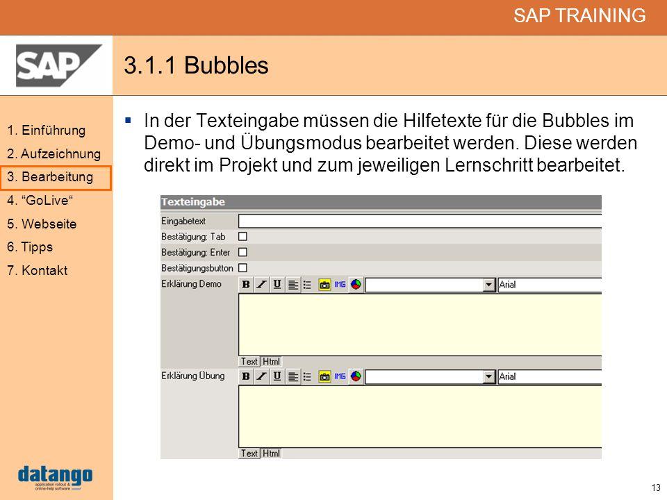 3.1.1 Bubbles