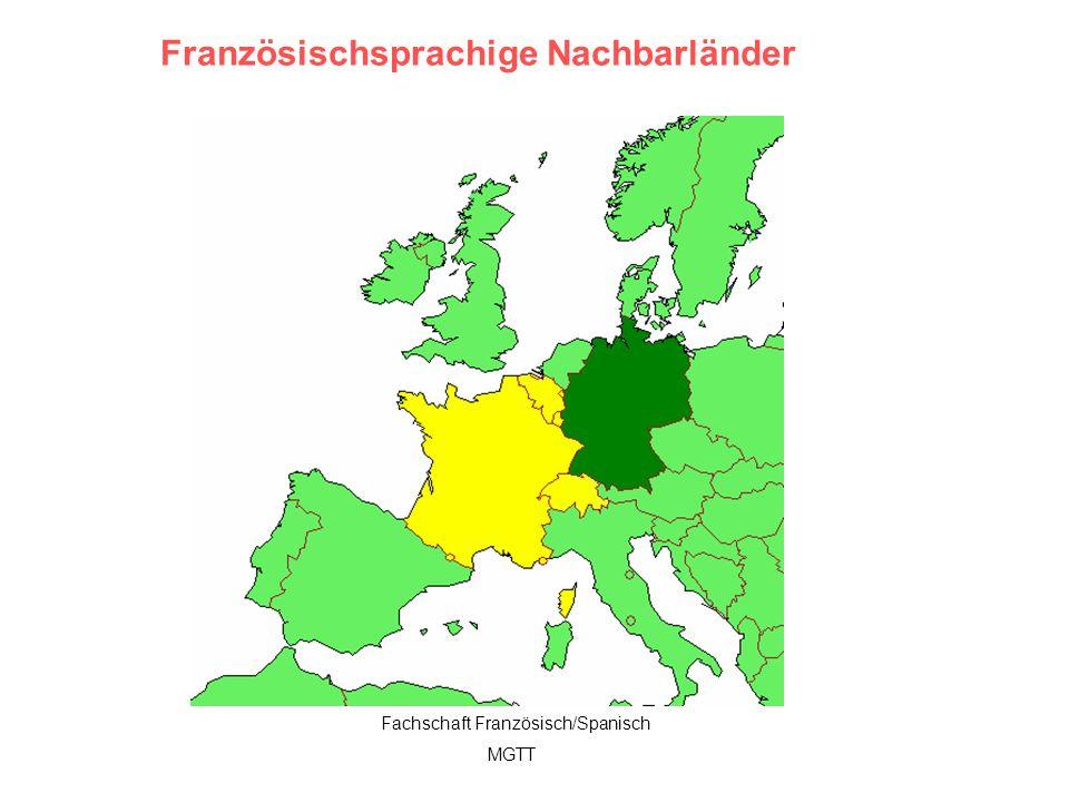 Französischsprachige Nachbarländer