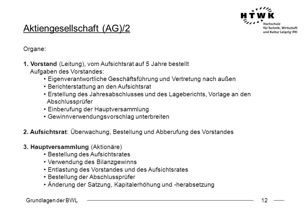 Aktiengesellschaft (AG)/2