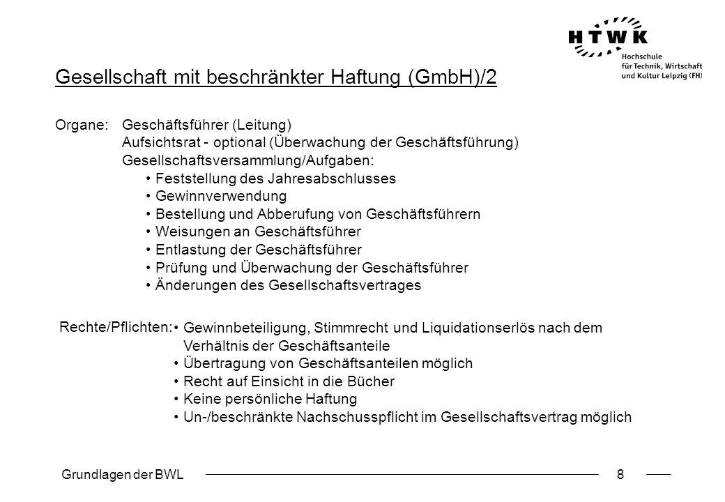 Gesellschaft mit beschränkter Haftung (GmbH)/2