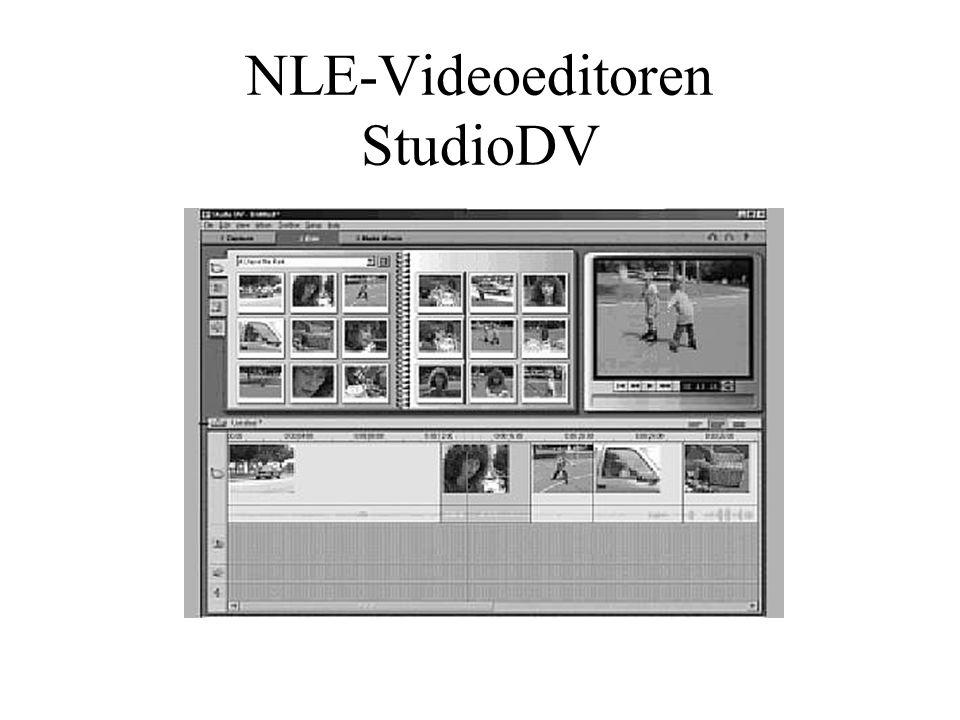 NLE-Videoeditoren StudioDV