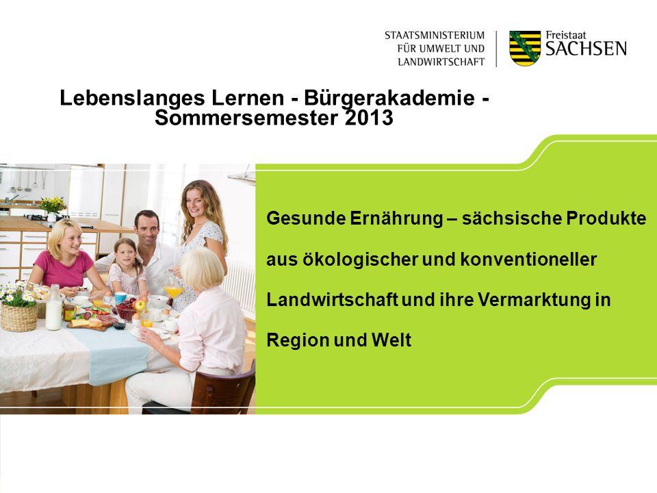 Lebenslanges Lernen - Bürgerakademie -