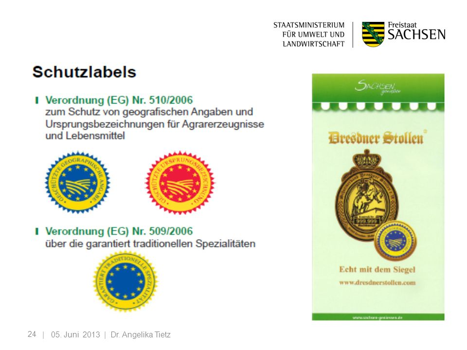 | 05. Juni 2013 | Dr. Angelika Tietz