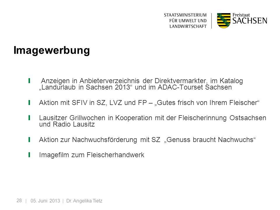 """Imagewerbung Anzeigen in Anbieterverzeichnis der Direktvermarkter, im Katalog """"Landurlaub in Sachsen 2013 und im ADAC-Tourset Sachsen."""