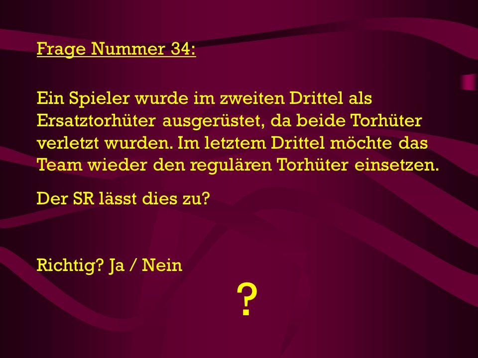 Frage Nummer 34: