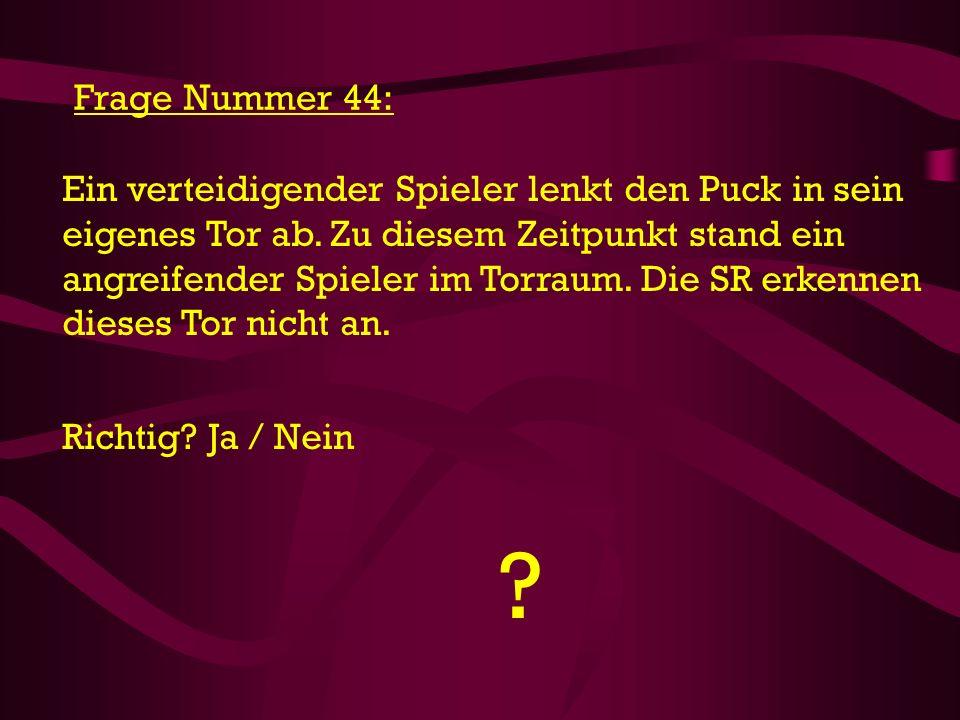 Frage Nummer 44: