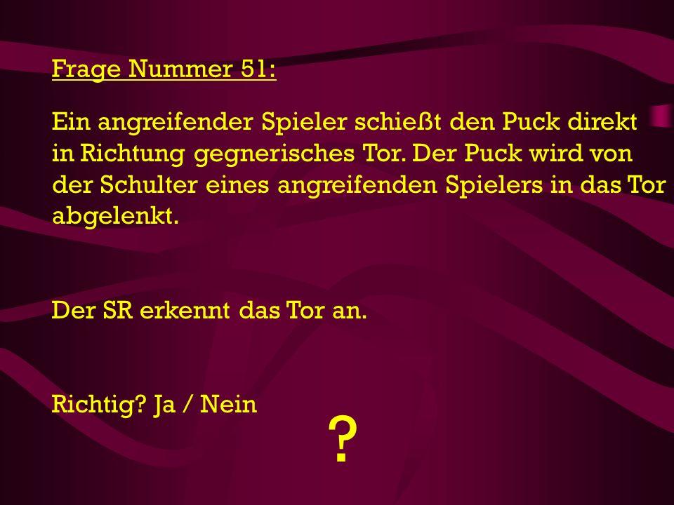 Frage Nummer 51: