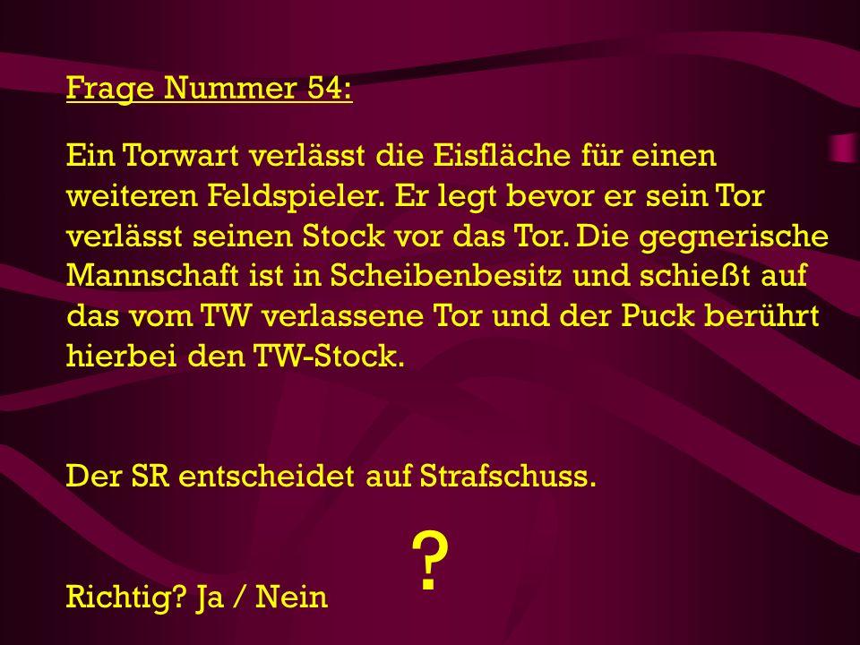 Frage Nummer 54: