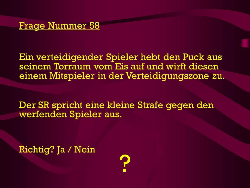 Frage Nummer 58