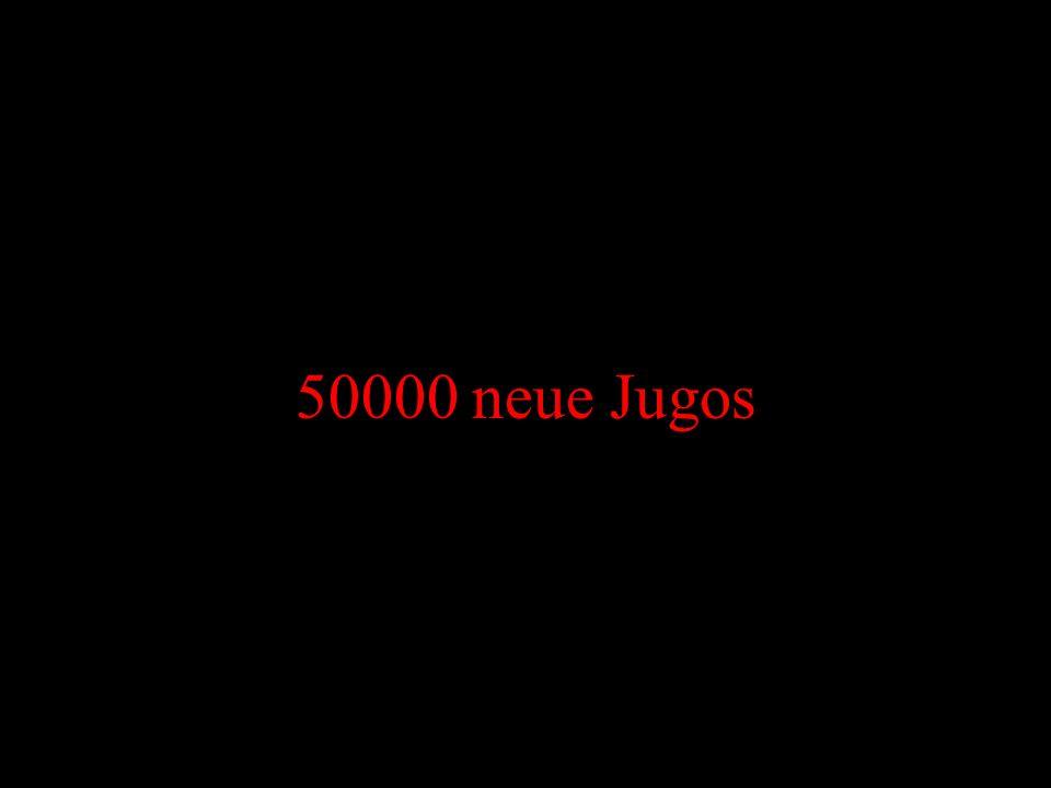 50000 neue Jugos