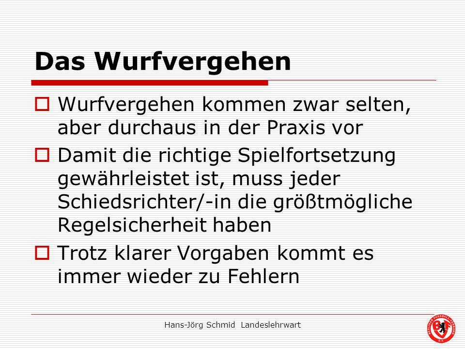 Hans-Jörg Schmid Landeslehrwart