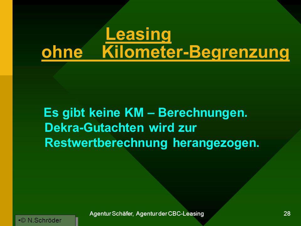 Leasing ohne Kilometer-Begrenzung