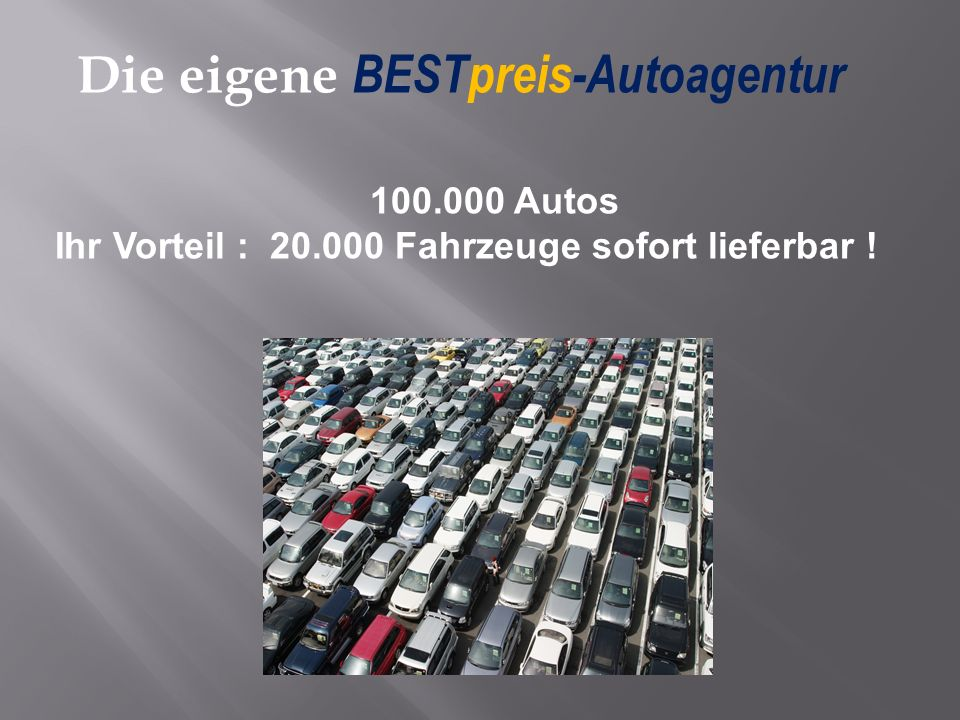 Die eigene BESTpreis-Autoagentur