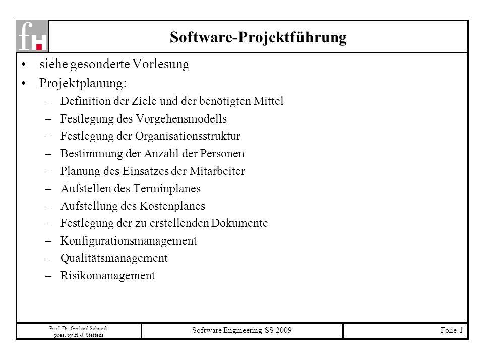 Software-Projektführung
