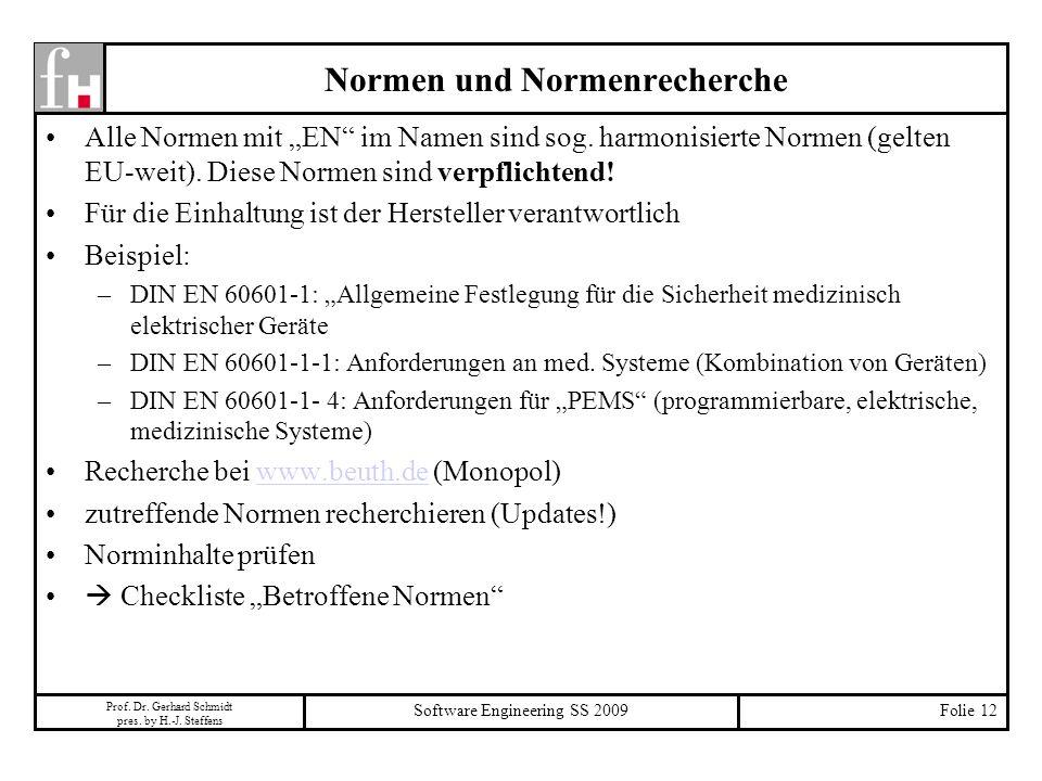 Normen und Normenrecherche