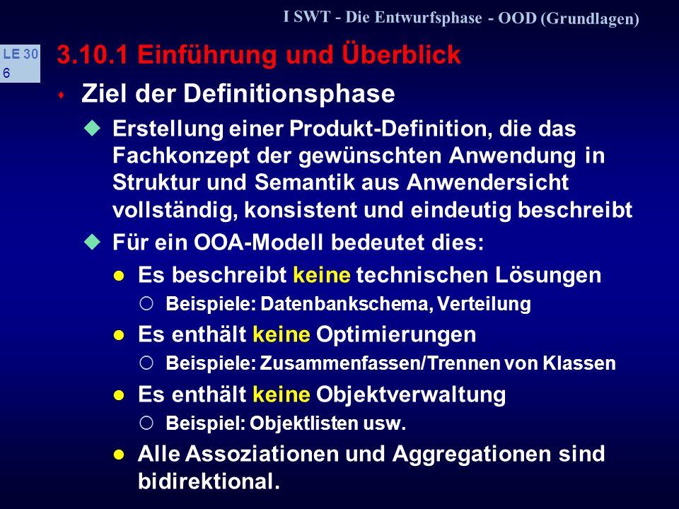 3.10.1 Einführung und Überblick