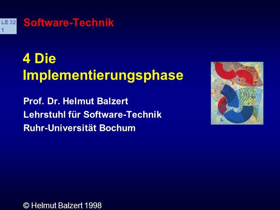 Implementierungsphase