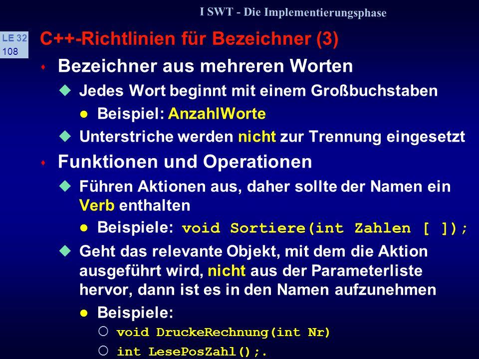 C++-Richtlinien für Bezeichner (3)