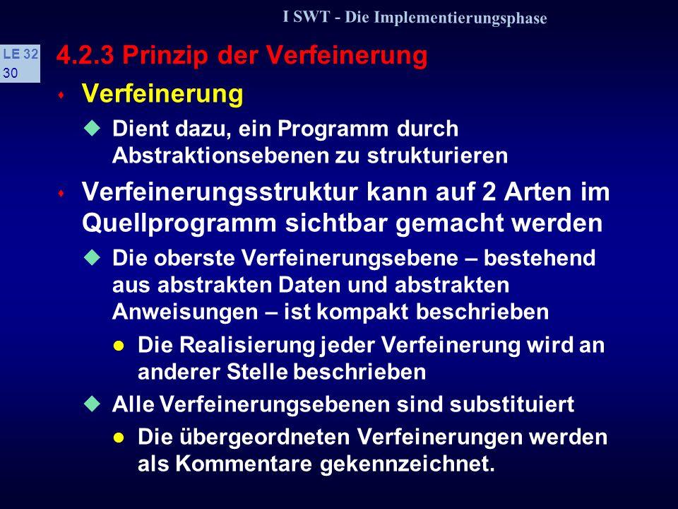 4.2.3 Prinzip der Verfeinerung