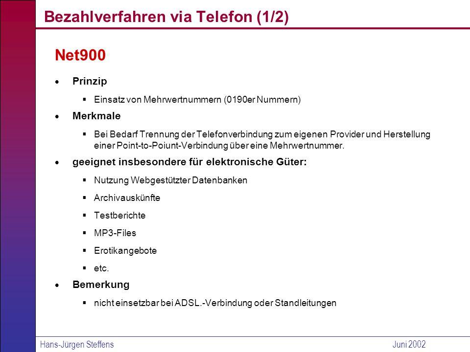 Bezahlverfahren via Telefon (1/2)