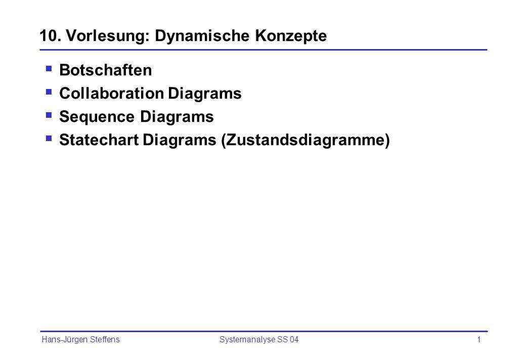 10. Vorlesung: Dynamische Konzepte