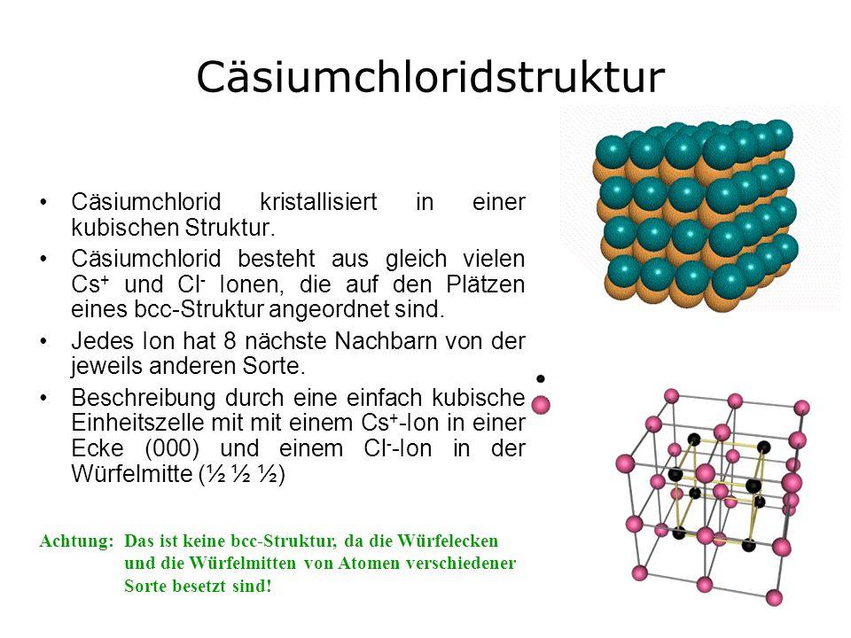 Cäsiumchloridstruktur