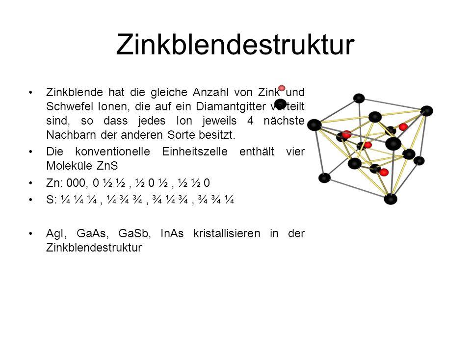 Zinkblendestruktur