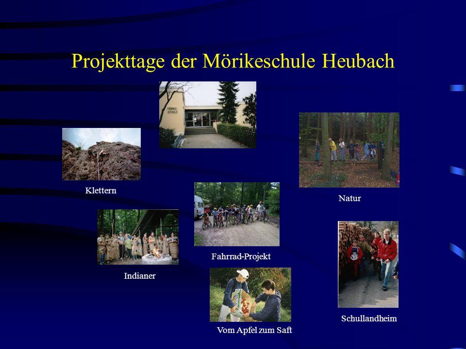 Projekttage der Mörikeschule Heubach