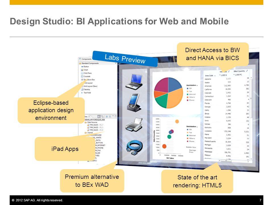 Design Studio: BI Applications for Web and Mobile