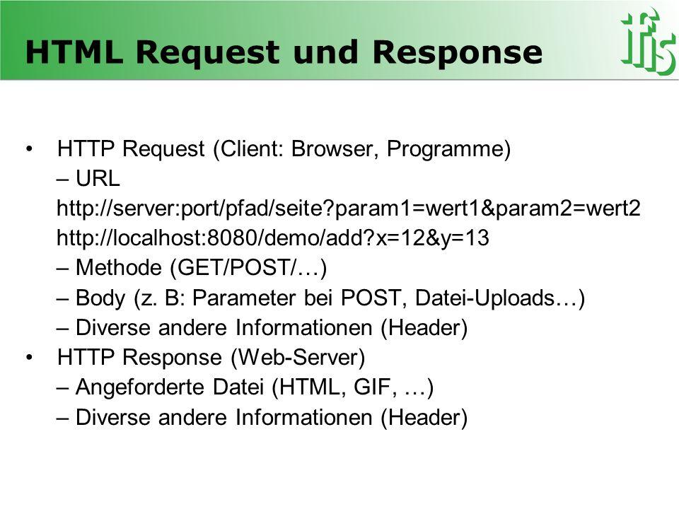 HTML Request und Response