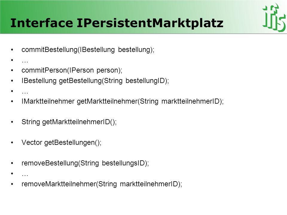 Interface IPersistentMarktplatz