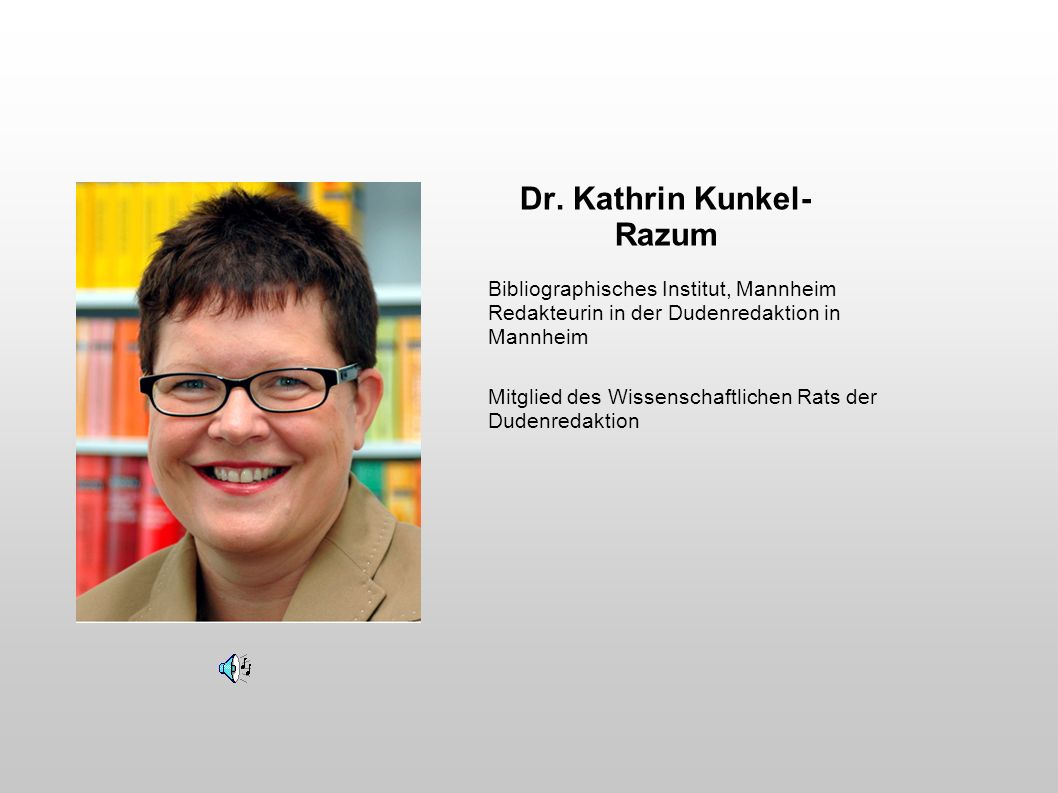 Dr. Kathrin Kunkel-Razum