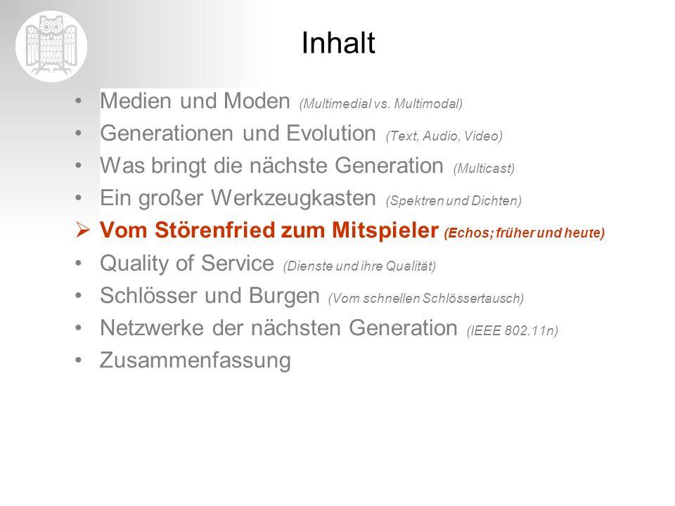 Inhalt Medien und Moden (Multimedial vs. Multimodal)