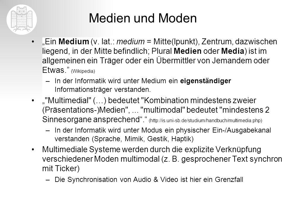 Medien und Moden