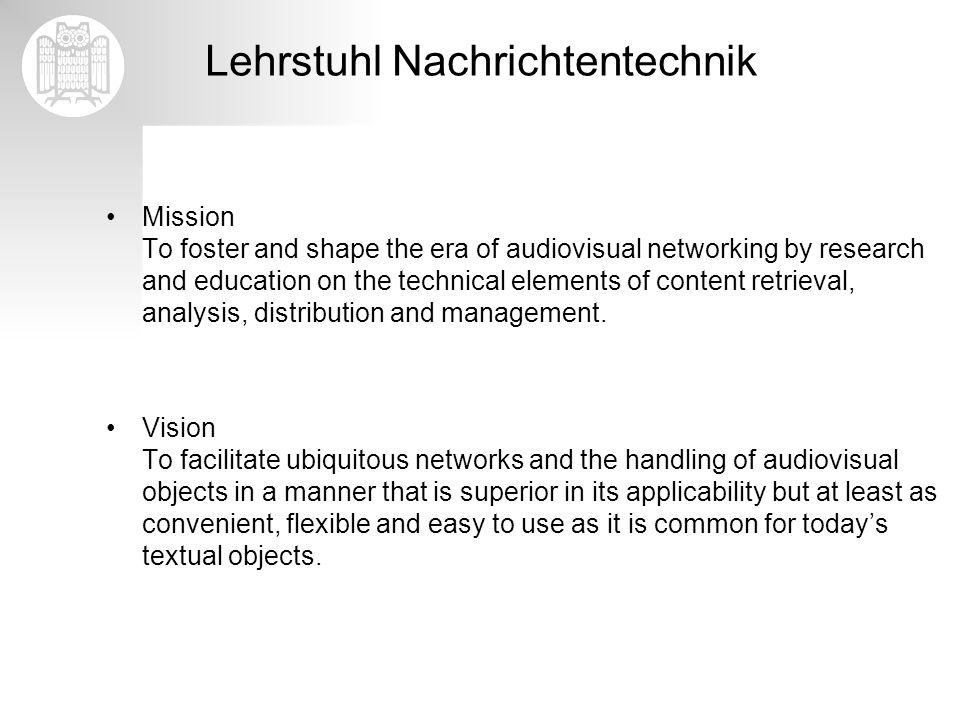 Lehrstuhl Nachrichtentechnik