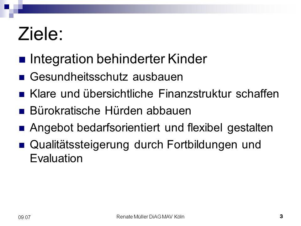 Renate Müller DiAG MAV Köln