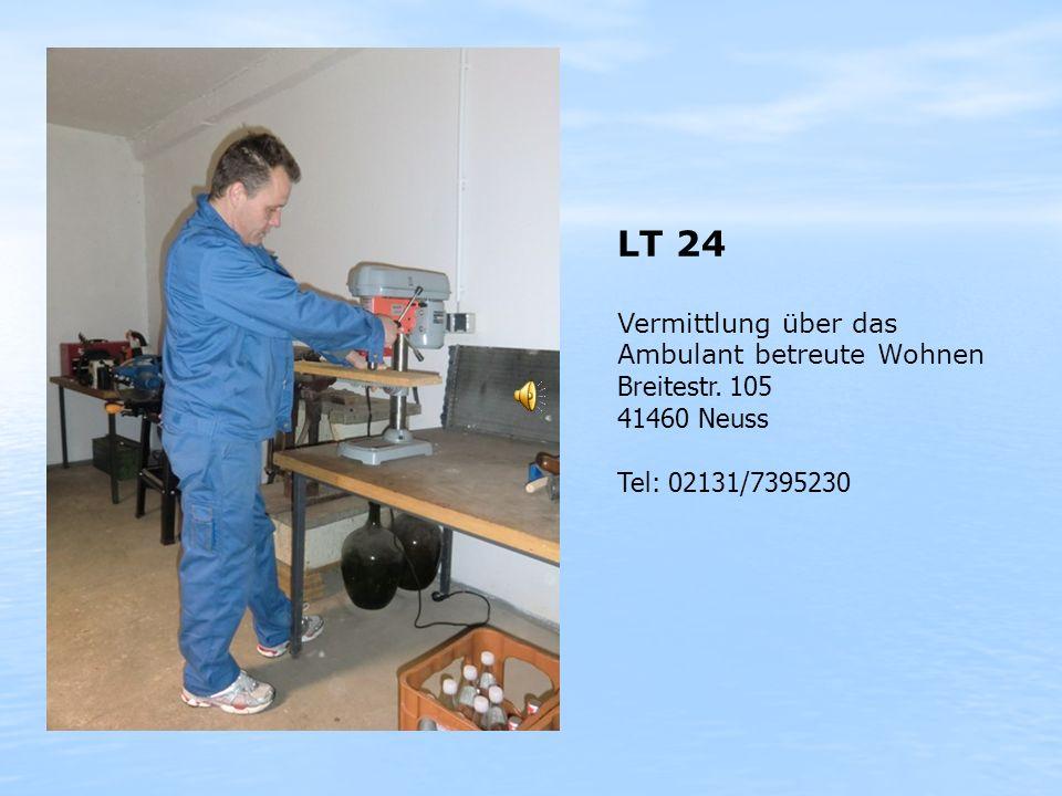 LT 24 Vermittlung über das Ambulant betreute Wohnen Breitestr. 105