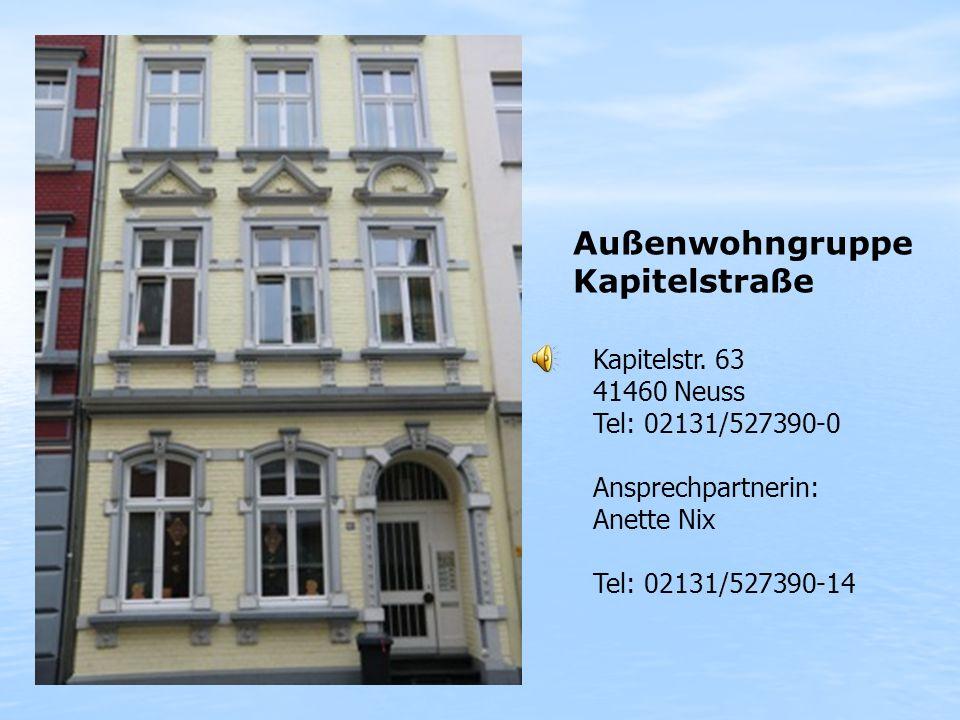 Außenwohngruppe Kapitelstraße Kapitelstr. 63 41460 Neuss