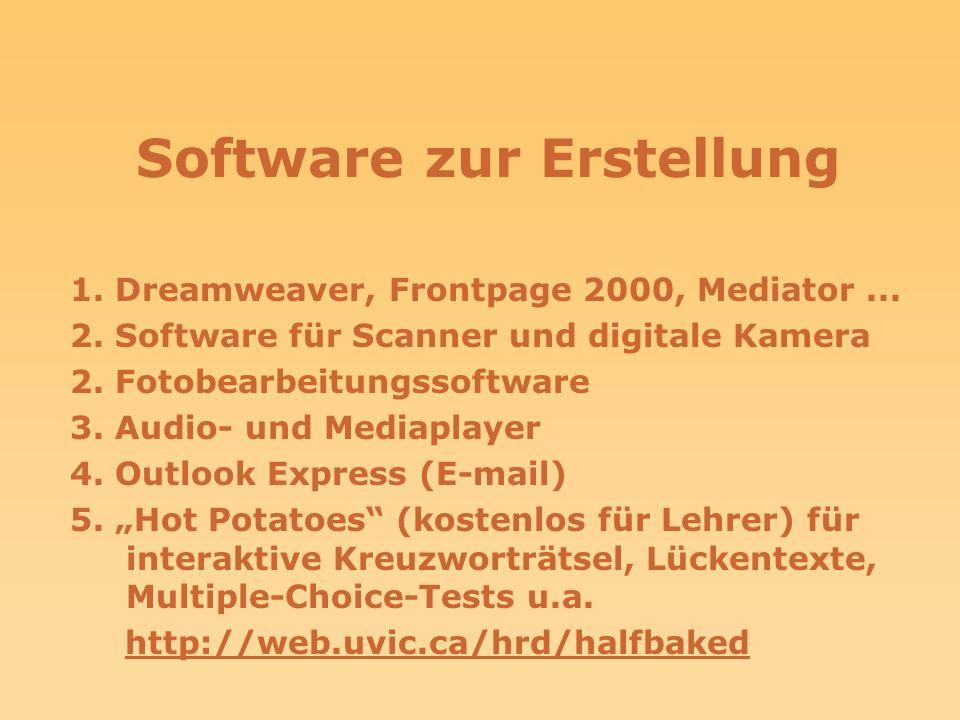 Software zur Erstellung